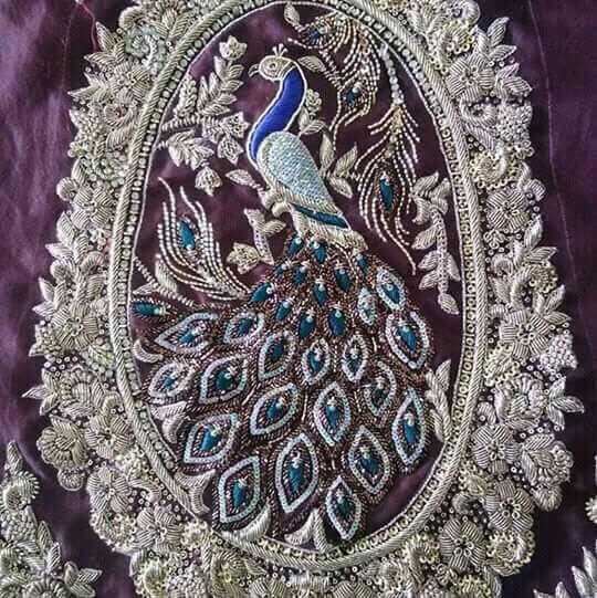History of zardozi embroidery