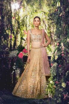 Gold Bridal Lehenga - Zardozi Fashion