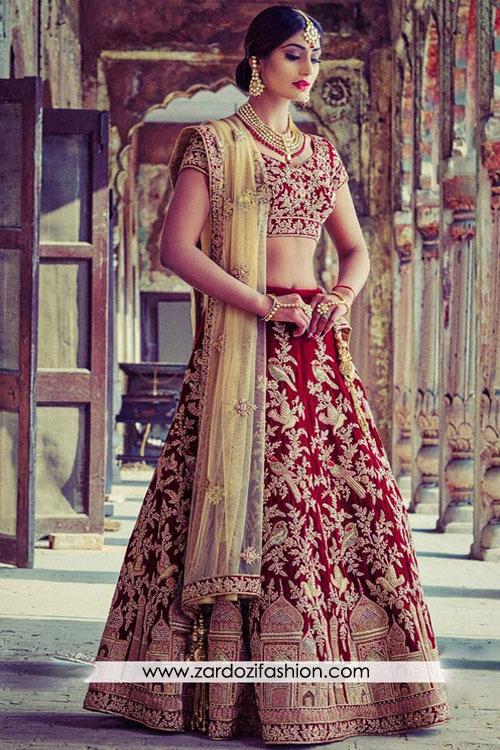Red Lehenga Bridal